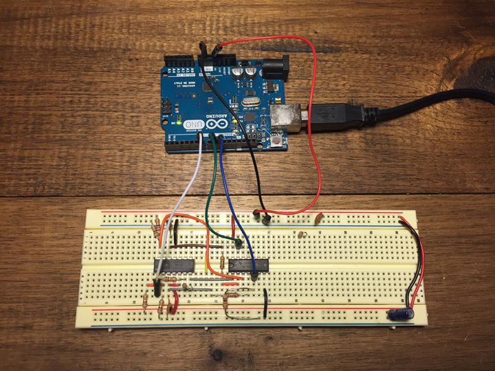 Infinite noise breadboard